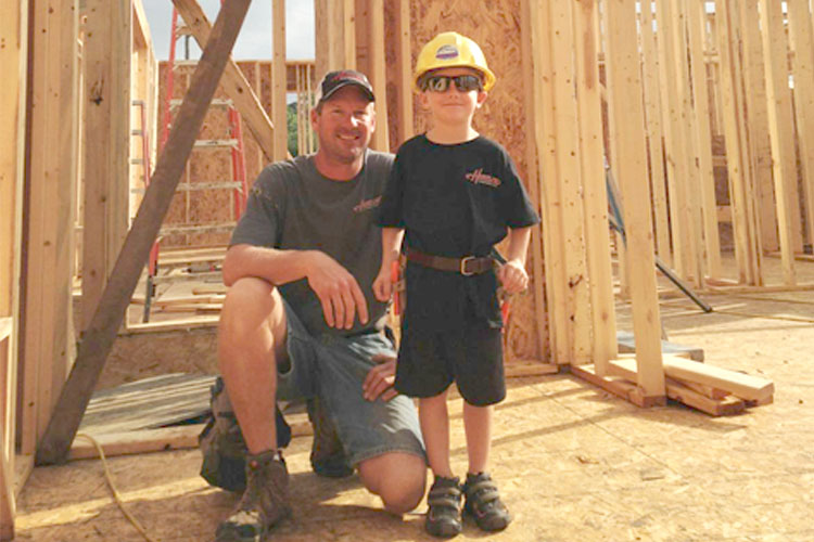 Paul and son Hartland Construction