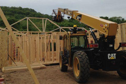 Hartland Construction work site