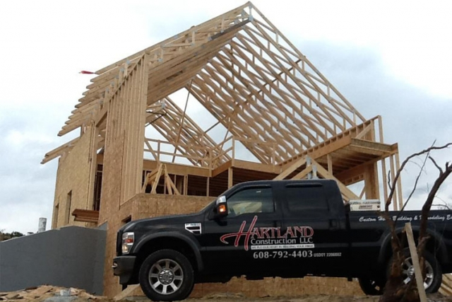 Hartland Construction Truck and frame