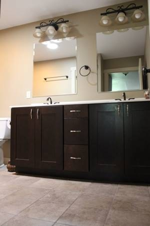 bathroom sinks Hartland Construction