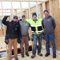 Hartland Construction crew