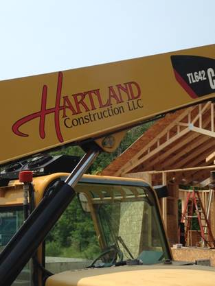 Hartland Construction equipment